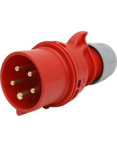 Stecker CEE 16A/5 (3L+N+E) 400V 6h IP44