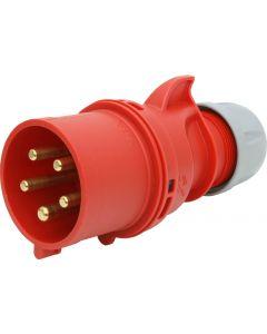 Stecker CEE 32A/5 (3L+N+E) 400V 6h IP44