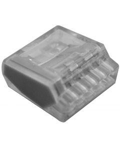 Wago-Steckklemme Polyamid für Draht 1.5mm2 / 5-fach