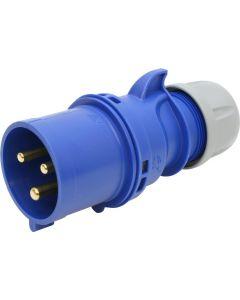 Stecker blau CEE 32A/3 (2P+E) 230V 6h