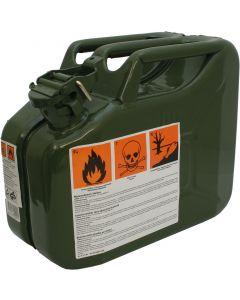 Benzinkanister olivgrün Armee 10 Liter