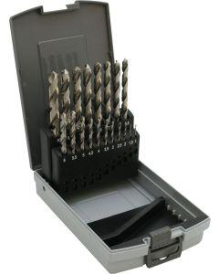 Spiralbohrersatz HSSG Terrax/Ruko 1-10 mm