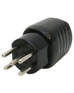 Stecker T15 10A 230/400V gerade
