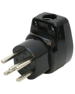 Stecker T15 10A 230/400V gekröpft