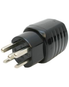 Stecker T25 16A 230/400V gerade