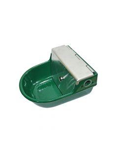 Schwimmertränkebecken grün emailliert