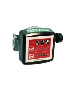 Durchlaufzähler mechanisch K33 für Diesel und Heizöl