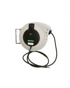 Kabelrolle mit automatischem Rückzug 400V -20 m Kabel 5x1.5 mm2 ohne Kupplung