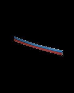 Zwillings-Autogenschweissschlauch rot/blau 6.3x13mm per Meter