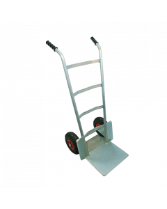 Sackkarren verzinkt mit Pneurad Ø 260 mm / Schaufel 260 x 370 mm