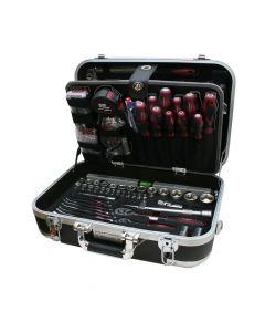 """ABS-Universal-Werkzeugkoffer KRAFTWERK 1/4""""+1/2"""" 168-teilig"""