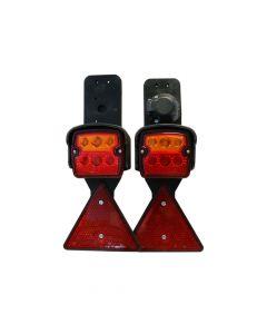 Beleuchtungsgarnitur LED 12V zur festen Montage