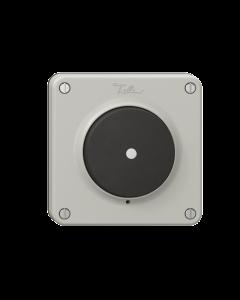Deckel FELLER NEVO für Druckschalter/Taster hellgrau