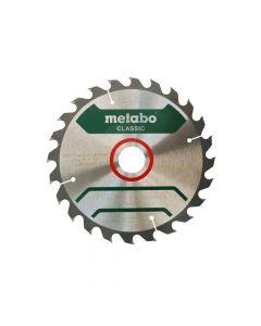 Kreissägeblatt METABO CUT WOOD CLASSIC Ø190x2x30 Z24 WZ15°