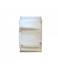Blache Polyethylen 3x5m weiss