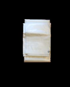 Blache Polyethylen 10x10m weiss
