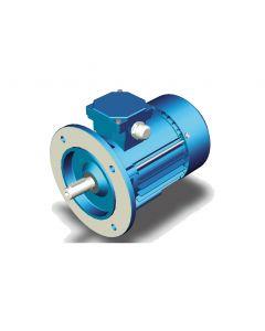 Elektromotor 3Ph IE3-80 - Flansch B5 Ø200/165/130 - 0.75kW - 2800min.-1 - 400V
