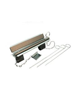 Schraubstock-Pressapparat Riemenschloss Anker für Riemenbreite 200mm / Teilung 3.67mm