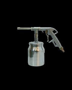 Druckluft Sandstrahlpistole komplett mit Saugbecher