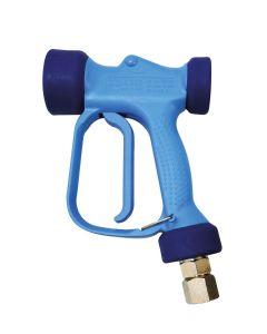 Waschpistole RB65 Messing - blaue Schutzisolation