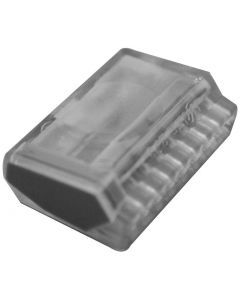 Wago-Steckklemme Polyamid für Draht 2.5mm2 / 8-fach