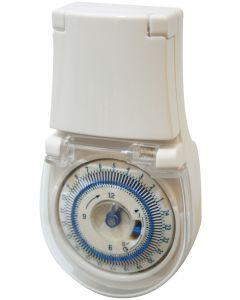 Zeitschaltuhr Timer SilverLine Mechanisch IP44
