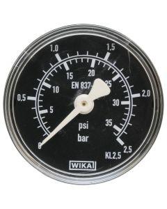 "Manometer 1/4""  0-2.5 bar  Ø 50mm"