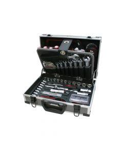 """Allround-Alu-Werkzeugkoffer KRAFTWERK 1043 -  1/4""""+3/8"""" 109-teilig"""