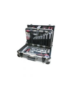 """Universal-Alu-Werkzeugkoffer KRAFTWERK 1047 -  1/4""""+1/2"""" 207-teilig"""