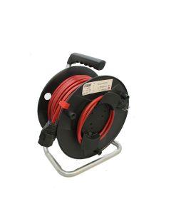 Gartenkabelrolle 50m Kabel TD3x1.5mm2